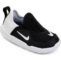 Tênis Infantil Nike Lil' Swoosh Masculino - Masculino-Preto+Branco