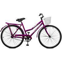 Bicicleta Master Bike Aro 26 Feminina Kamilla Contrapedal Roxo
