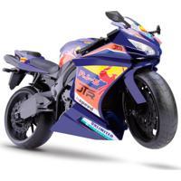 Moto Rodas Livres - Roma Racing Motorcycle - Roxa - Roma Jensen