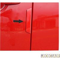 Protetor Da Porta - Np Adesivos - Universal - Resina Transparente - Par - 001666