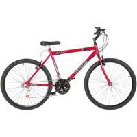 Bicicleta Aro 26 Aço Carbono 18 Marchas V- Brake Ultra Bikes - Unissex