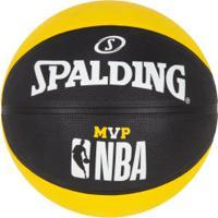 Bola De Basquete Spalding Nba Mvp 7 - Amarelo/Preto