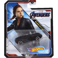Carrinho Hot Wheels Marvel - Black Widow - Mattel