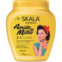 Creme Hidratante Para Cabelos Skala 2 Em 1 Amido De Milho Com 1Kg 1Kg