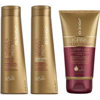 Kit Joico Shampoo Color Therapy + Condicionador 300 Ml + Máscara 140 Ml