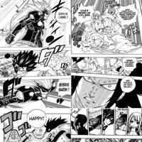 Papel De Parede Adesivo Mangá Fairy Tail (0,58M X 2,50M)