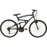 Bicicleta Full Suspension Eagle Aro 26 V-Brake 21 Marchas Polimet - Unissex
