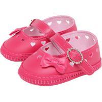 Sapato Pimpolho Infantil Recortes Rosa