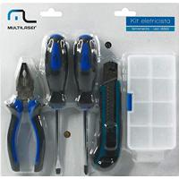 Multilaser Au337, Kit Ferramentas, Azul