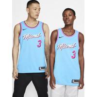 Regata Nike Dwyane Wade Heat City Edition Unissex