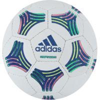 ... Bola De Futsal Adidas Tango - Branco Azul Esc f2854c1c8f25f