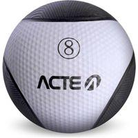 Medicine Ball 8Kg Branco T107 Acte Sports Branco