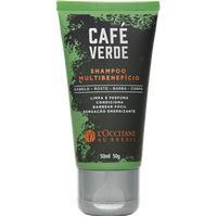 Shampoo Multibenefício Café Verde 50Ml