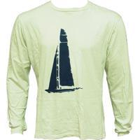 Camiseta Protection Ml Oceano Branca 960 - Ballyhoo