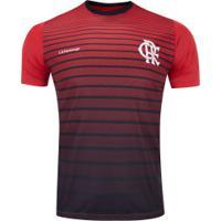 Camiseta Do Flamengo New Strike 20 - Masculina - Preto/Vermelho