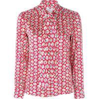 Ultràchic Blusa 'Alphabet' - Vermelho