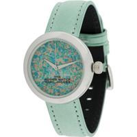 Marc Jacobs Watches Relógio The Round - Verde