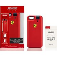Ferrari Kit Masculino Capa De Iphone 6/6S Red Edt 25Ml + Refil 25Ml - Masculino-Vermelho