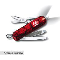 Canivete Signature- Inox & Vermelho- 5,8Cm- Victvictorinox