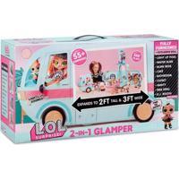 Playset Com Mini Bonecas E Veículo - Lol Surprise - Glamper - Candide