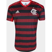 Camisa Flamengo I 19/20 S/Nº Jogador Adidas Masculina - Masculino