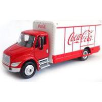 Peterbilt Beverage Truck Coca-Cola 1:87 Caminhão Miniatura