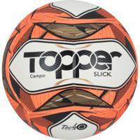 Bola De Futebol De Campo Topper Slick Ii 2019 - Branco/Vermelho
