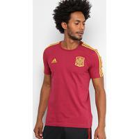 Camiseta Seleção Espanha Adidas 3S Masculina - Masculino