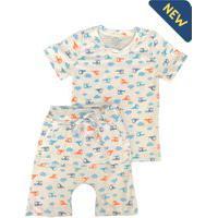 Pijama Infantil Saruel Mundo Vip Kids Helicópteros
