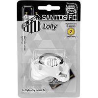 Chupeta Santos Lolly Baby Sil R T2 - Unissex