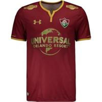 cff8659fdc Netshoes; Camisa Under Armour Fluminense Iii 2017 Com Patrocínio Masculina  - Masculino