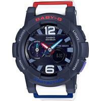 Relógio Baby-G Bga-180-2B2Dr - Unissex-Marinho