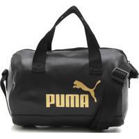 Bolsa Puma Core Up Handbag Preta