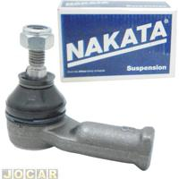 Terminal De Direção - Nakata - Fiesta 1996 Até 2004 - Courier 1998 Até 2006 - Fiesta Sedan 2002 Até 2004 - Lado Do Motorista - Cada (Unidade) - N2026