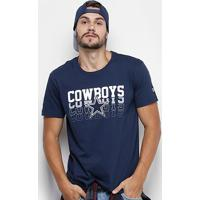 Camiseta Nfl Dallas Cowboys New Era Sports Vein Masculina - Masculino