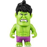 Pen Drive Marvel Vingadores Hulk 8Gb Usb Leitura 10Mb/S E Gravação 3Mb/S Multilaser - Pd082 Pd082