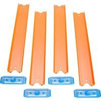 Conjunto De Pistas - Hot Wheels - Track Builder - Reta - 90 Cm - Laranja - Mattel