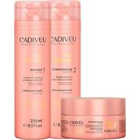 Kit Tratamento Hair Remedy Shampoo + Condicionador + Máscara Cadiveu