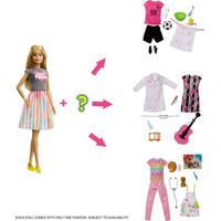 Boneca Barbie - Barbie Profissões - Profissão Surpresa - 8 Surpresas - Mattel