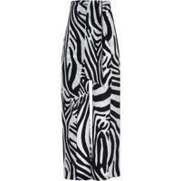 Calca Helena Seda (Zebra P & B, 36)