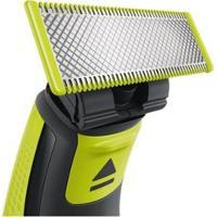 Lâmina Para Barbeador Elétrico Philips - One Blade - Unissex-Verde+Cinza