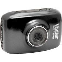 Câmera Filmadora Vivitar De Ação Hd Com Caixa Estanque E Acessórios Cinza