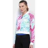 Jaqueta Nike Sportwear Hype Feminina - Feminino-Branco