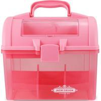Caixa Organizadora- Rosa & Pink- 24X25,5X18Cm- Jjacki Design