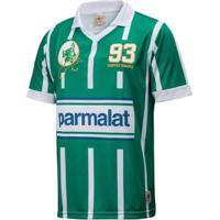 Camisa Retrô Gol Zinho Ex-Palmeiras Réplica 93 Masculina - Masculino