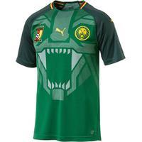 Camisa Seleção Camarões Home 2018 S/N° - Torcedor Puma Masculina - Masculino