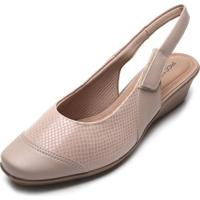 Scarpin Piccadilly Cobra Nude
