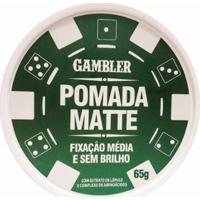 Pomada Matte Média Fixação 65G - Gambler - Masculino
