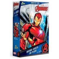 Quebra-Cabeça Homem De Ferro Os Vingadores 60 Peças -Toyster