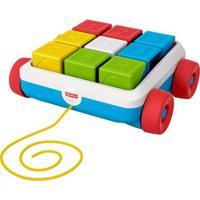 Brinquedo De Atividade - Carrinho De Blocos - Colorido - Fisher-Price